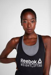 Reebok - WEIGHTLIFTING TANK - Top - black - 3