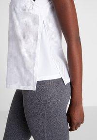 Reebok - TANK - Sports shirt - white - 3
