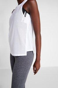 Reebok - TANK - Sports shirt - white - 4