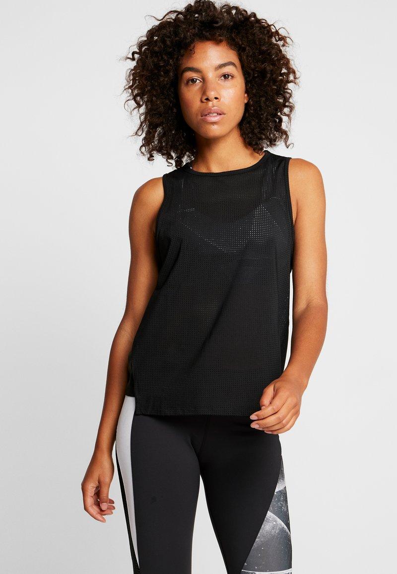 Reebok - TANK - Camiseta de deporte - black