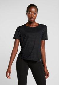 Reebok - TEE - T-shirt basic - black - 0