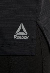 Reebok - TEE - T-shirt basic - black - 5