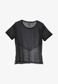 Reebok - TEE - T-shirt basic - black - 4