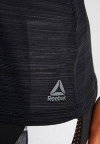Reebok - WOR TANK - Tekninen urheilupaita - black - 5