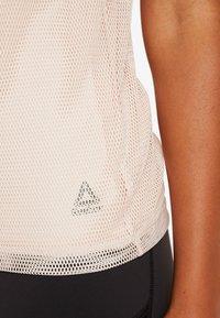 Reebok - PERFORMANCE TANK - Sports shirt - buff - 4