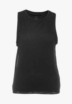 PERFORMANCE TANK - Sportshirt - black
