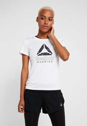 DELTA GRAPHIC TEE - T-shirts med print - white