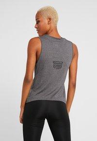 Reebok - TANK GAMES - Sports shirt - solid grey - 2