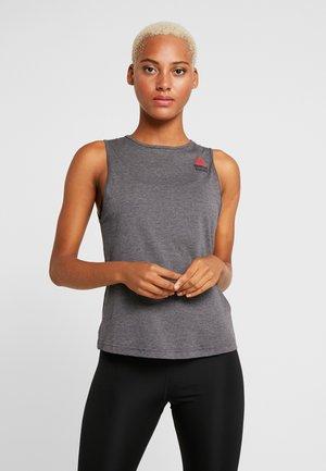 TANK GAMES - Koszulka sportowa - solid grey