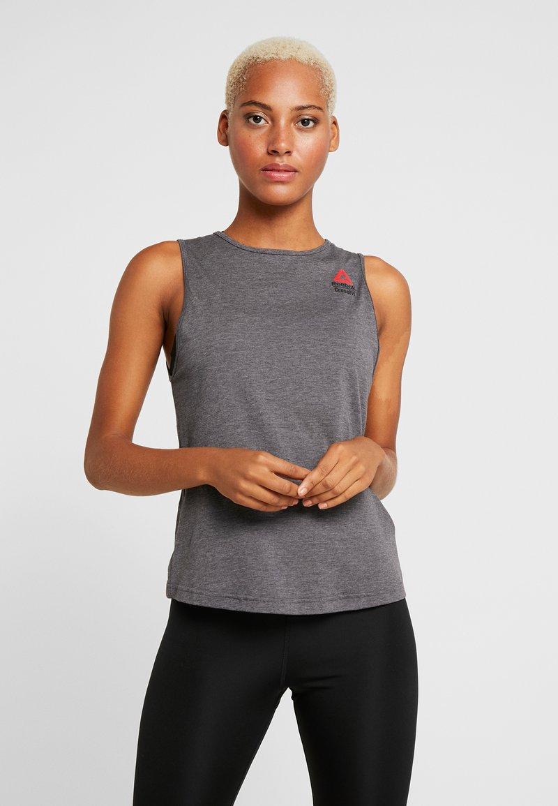 Reebok - TANK GAMES - Sports shirt - solid grey