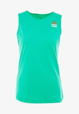 TANK GAMES - Sports shirt - emerald