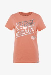 Reebok - FITTEST ON EARTH TEE - T-shirts print - rosette - 3
