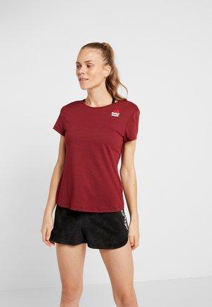 TEE GAMES - T-shirts med print - merlot