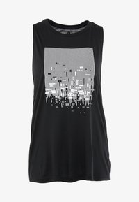 Reebok - GRAPHIC TANK - Top - black - 4