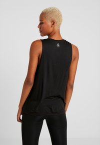 Reebok - GRAPHIC TANK - Top - black - 2