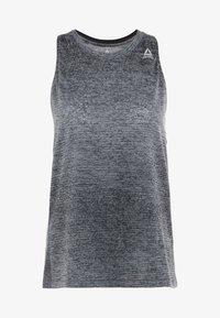 Reebok - TANK - Koszulka sportowa - cold grey - 6