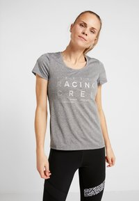 Reebok - REFLECT TEE - T-shirt med print - black - 0