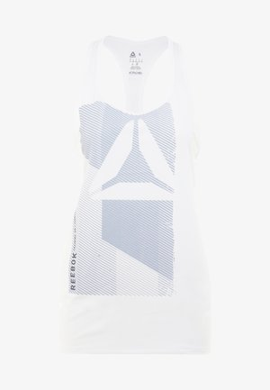 GRAPHIC TANK - Sports shirt - white