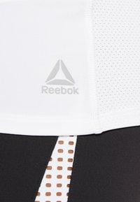 Reebok - GRAPHIC TANK - Sports shirt - white - 3