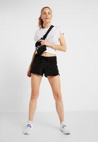Reebok - BURNOUT TEE - Print T-shirt - white - 1