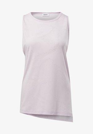 BURNOUT TANK TOP - T-shirt de sport - pink