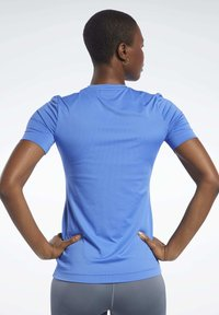 Reebok - WORKOUT READY SUPREMIUM TEE - Basic T-shirt - blue - 2