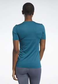 Reebok - WORKOUT READY SUPREMIUM TEE - T-shirts - heritage teal - 2