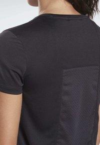 Reebok - RUNNING ESSENTIALS SPEEDWICK TEE - T-shirt basic - black - 3
