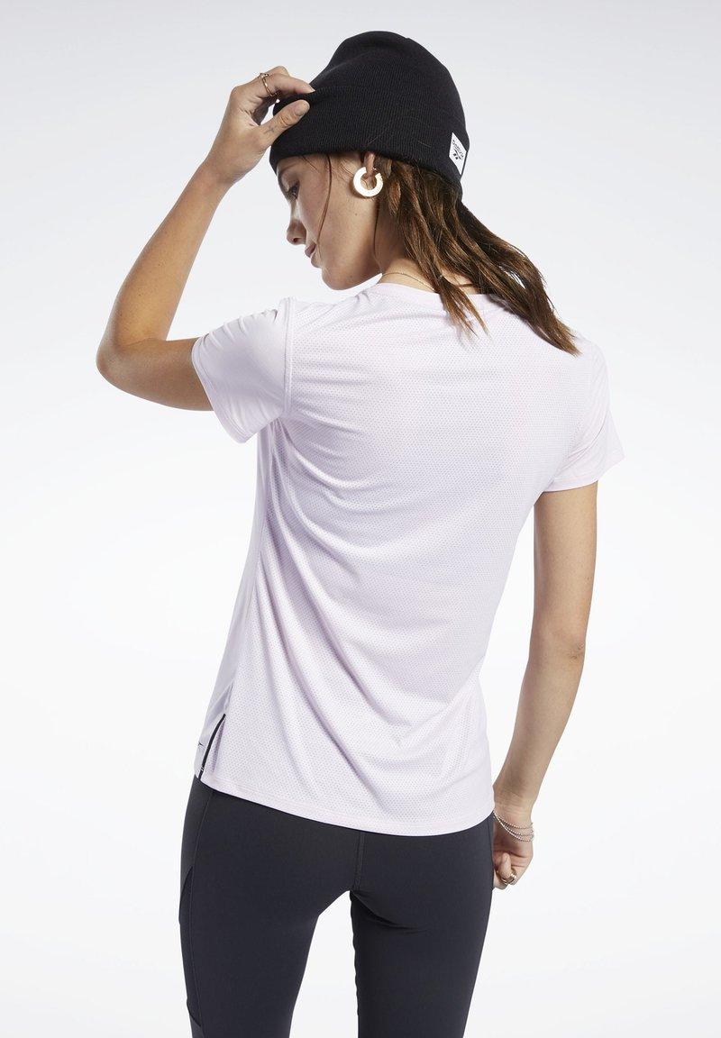 Reebok - ACTIVCHILL TEE - T-shirt basic - pink