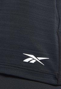 Reebok - ACTIVCHILL TEE - T-shirts - black - 5