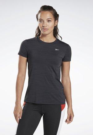 ONE SERIES RUNNING ACTIVCHILL TEE - T-shirts med print - black