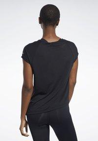 Reebok - BURNOUT TEE - T-shirts - black - 2