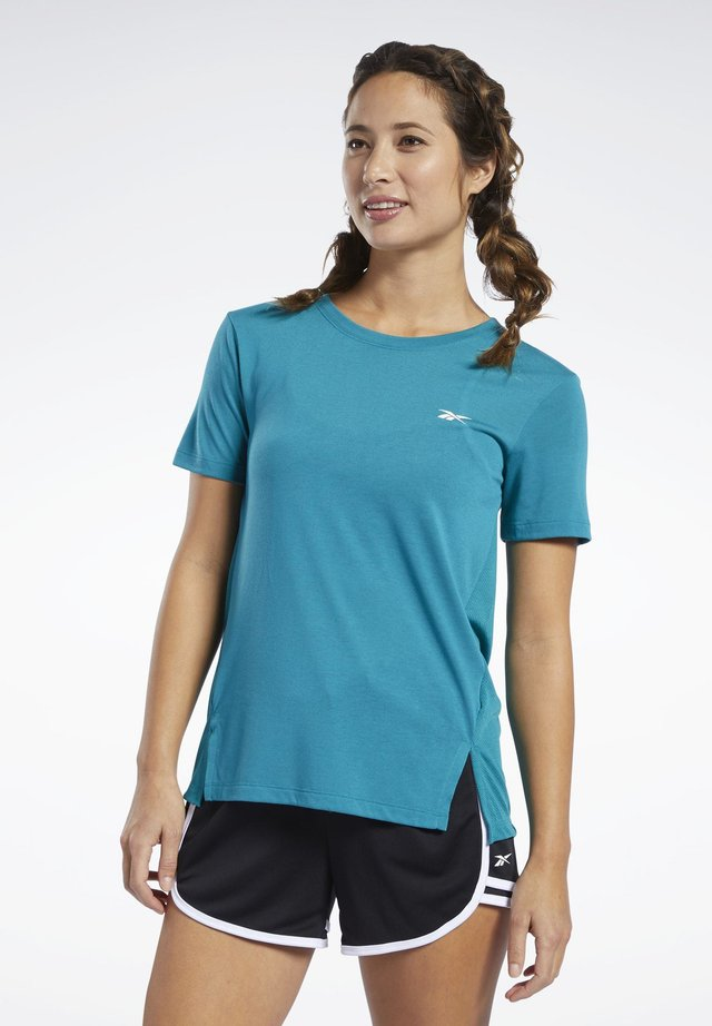 WORKOUT READY SUPREMIUM TEE - T-shirts print - teal