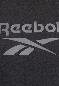 Reebok - TRAINING ESSENTIALS LOGO TEE - Printtipaita - black - 5