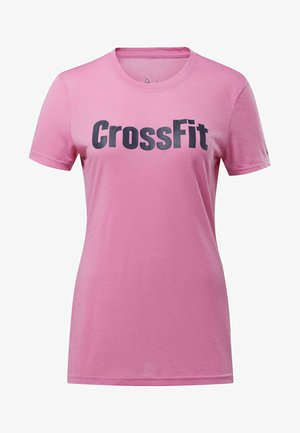 REEBOK TEE - Print T-shirt - posh pink