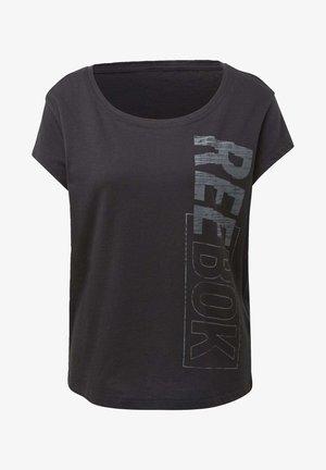 RESTORATIVE STUDIO GRAPHIC TEE - Print T-shirt - black