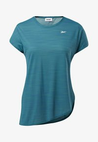 Reebok - WORKOUT READY ACTIVCHILL TEE - T-shirts med print - heritage teal - 5