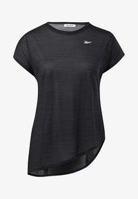 Reebok - WORKOUT READY ACTIVCHILL TEE - T-shirts - black - 6