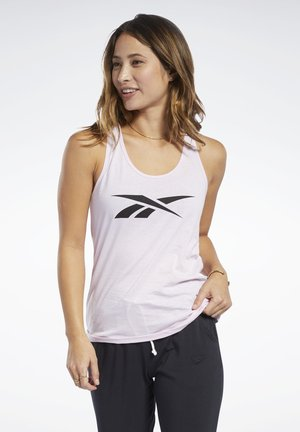 TRAINING ESSENTIALS GRAPHIC TANK TOP - Topper - pixel pink
