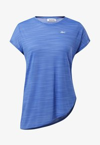 Reebok - WORKOUT READY ACTIVCHILL TEE - T-shirts med print - blue - 6