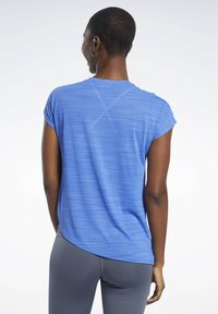 Reebok - WORKOUT READY ACTIVCHILL TEE - T-shirts med print - blue - 2