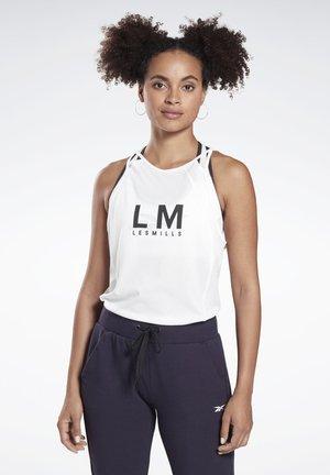 LES MILLS® SMARTVENT TANK TOP - Treningsskjorter - white
