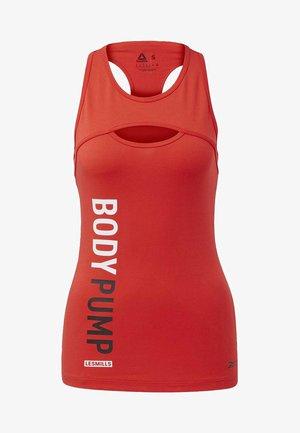 LES MILLS® BODYPUMP® TANK TOP - Sports shirt - red