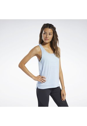 ACTIVCHILL+COTTON TANK TOP - Topper - blue