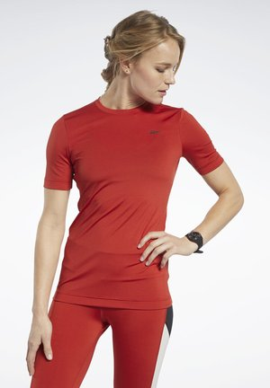 WORKOUT READY SUPREMIUM TEE - T-shirts basic - red