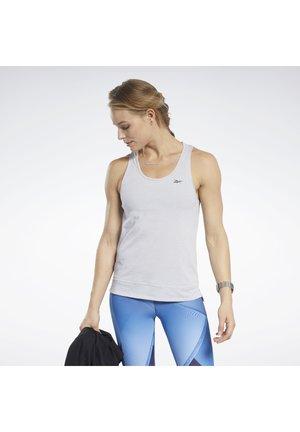 ACTIVCHILL+COTTON TANK TOP - Sportshirt - grey