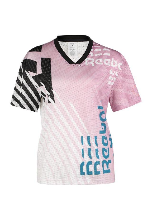 MEET YOU THERE  - T-shirt print - jasmine pink