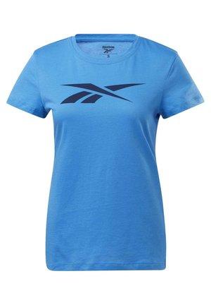 TRAINING ESSENTIALS VECTOR GRAPHIC T-SHIRT - Print T-shirt - blue