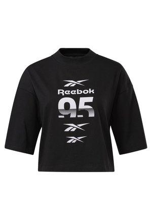 MYT GRAPHIC T-SHIRT - Print T-shirt - black