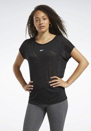 Burnout T-Shirt - T-Shirt basic - Black